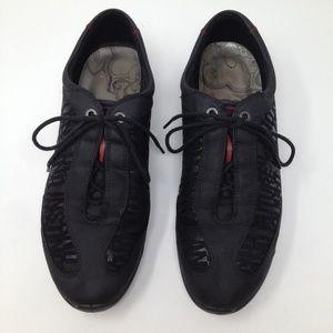 Ecco Women Leather Phrases Black Size 41 10 -10.5